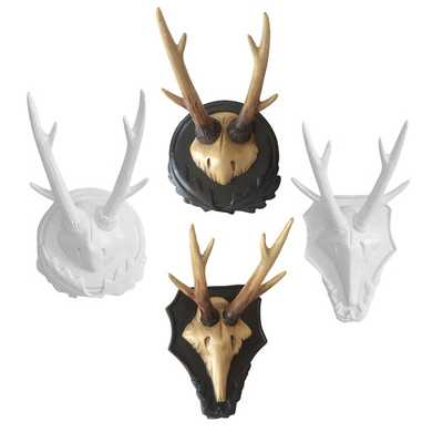 Forest Antlers Wall Plaque - AllModern