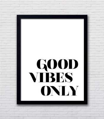 Good Vibes Only Poster - 20x24, Unframed - Etsy