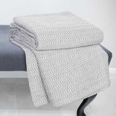 Barmeen Chevron Egyptian Cotton Blanket - AllModern