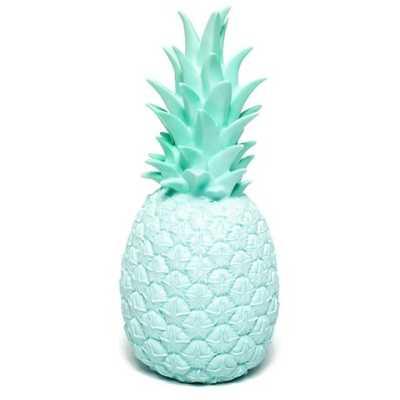 Pineapple Lamp Mint - trouva.com
