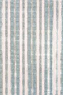 LIGHTHOUSE LIGHT BLUE/IVORY INDOOR/OUTDOOR RUG - 4' x 6' - Dash and Albert