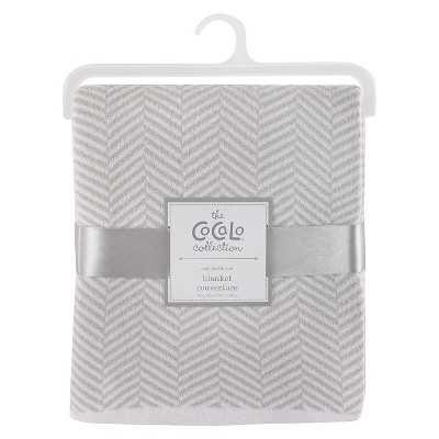 CoCaLo Herringbone Knitted Blanket - Target