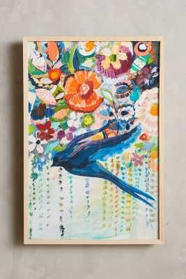 Mooreland Wall Art, Free Bird -31''H, 21''W-Framed- no mat - Anthropologie