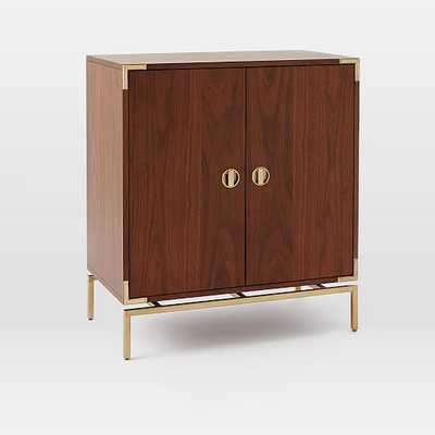 Malone Campaign Bar Cabinet - West Elm