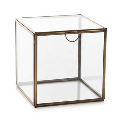 Clarus Large Square Box - Crate and Barrel