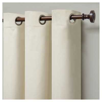 "Eclipseâ""¢ Windsor Light-Block ing Curtain Panel - Cream - 95"" - Target"