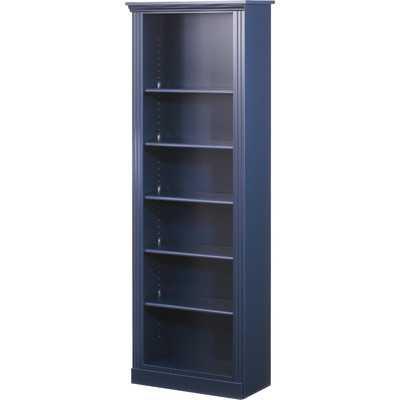 "Madison 72"" Standard Bookcase - Indigo - Wayfair"