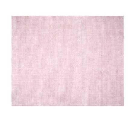 Peyton Rug - 8x10 - Light Pink - Pottery Barn Kids