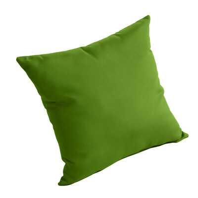"""Outdoor Sunbrella Pillow -Macaw - 16"""" - insert - Wayfair"""