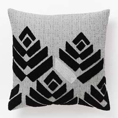 """Flower Buds Pillow Cover - 18""""sq- Insert Sold Separately - West Elm"""