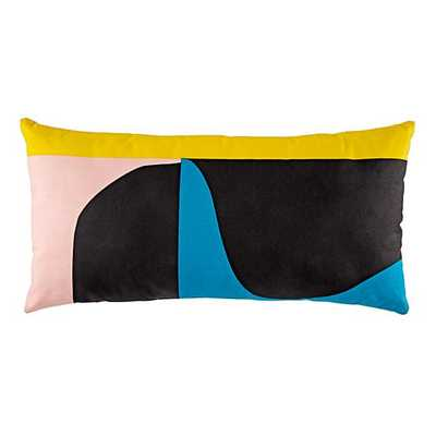 Abstract Throw Pillow (Multi) - Land of Nod