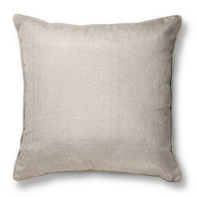 "Oversized Metallic Throw Pillow - 24"" x 24"" - Polyester fill - Target"