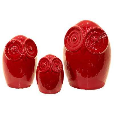 Ceramic Bottle Vase LG Dimpled Gloss - AllModern