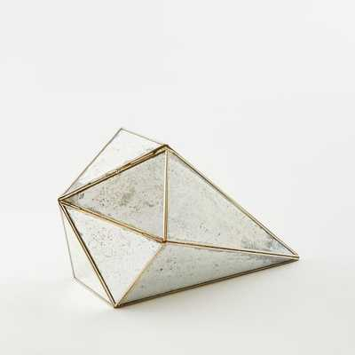 Geo Mirrored Object - Large - West Elm