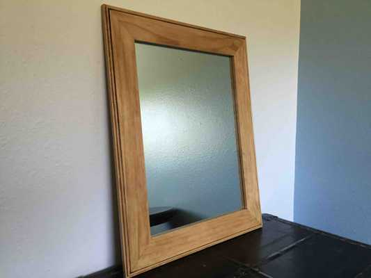 Large Clear Pine Mirror Frame - Etsy