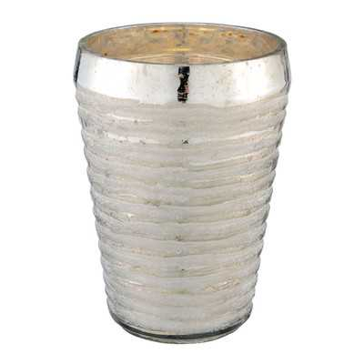 Hand Cut Glass Vase - Wayfair