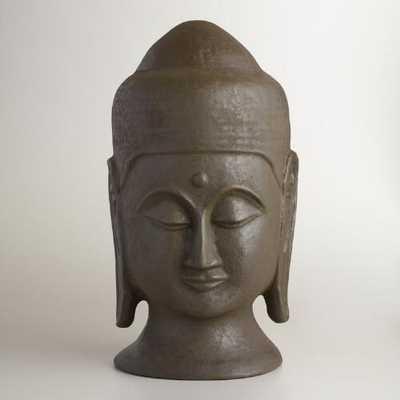 Extra Large Paper Mache Buddha Head - World Market/Cost Plus