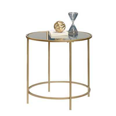 International Round Lux End Table - Wayfair