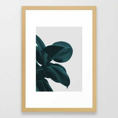 "Long way home - FRAMED ART PRINT	/ CONSERVATION NATURAL SMALL (15"" X 21"") - Society6"