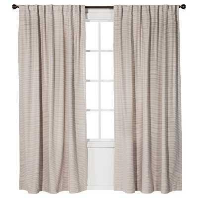 "Nate Berkusâ""¢ Linen Weave Curtain Panel- 54x 95"" - Target"