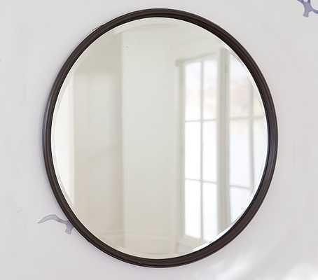 Monique Lhuillier Oil Rubbed Bronze Mirror - Pottery Barn Kids