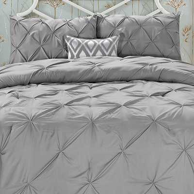 Swift Home Pintuck Comforter Set - Full / Queen - AllModern