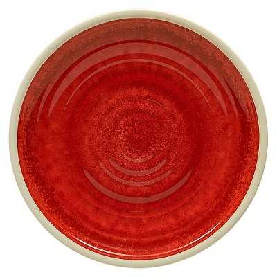 "Thresholdâ""¢ Artisan Dinner Plates Set of 4 - Red - Target"