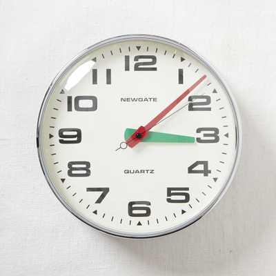 Newgate Wall Clock - Brixton - West Elm