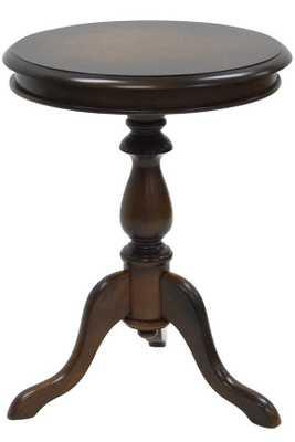 LORA PEDESTAL ACCENT TABLE - Home Decorators
