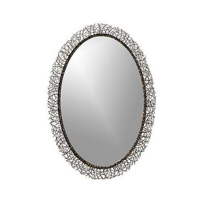 Odette Wall Mirror - Crate and Barrel