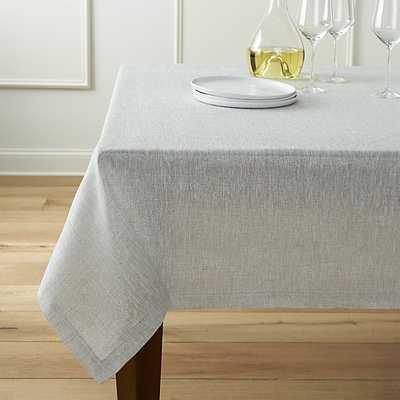 """Aurora Linen Tablecloth 60""""x120"""" - Crate and Barrel"""