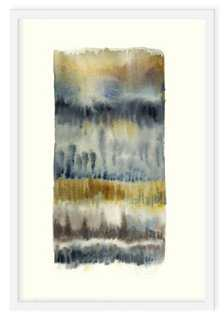 "Ayelet Iontef, Landscape Abstract-16"" x 13""-Framed - One Kings Lane"