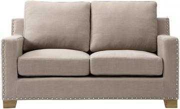 GARRISON LOVESEAT - Natural Linen - Home Decorators