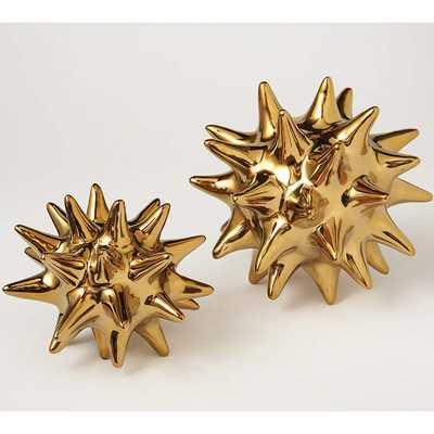 Urchin Bright Gold - Small - High Fashion Home