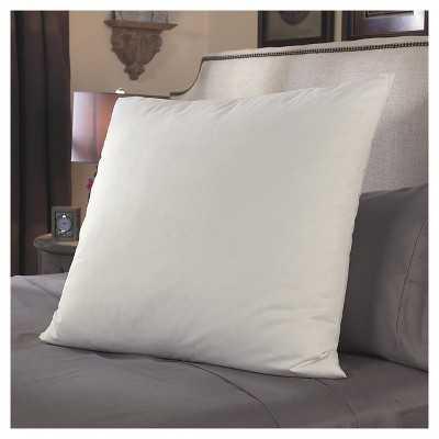 Restful Nights® European Square Pillow - White - Target
