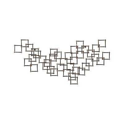 Squares Nail Metal Wall Art - Single - Crate and Barrel