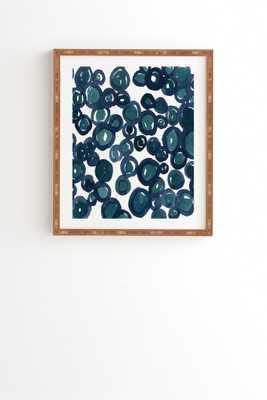 """SALTWATER Framed Wall Art - 14"""" x 16.5"""" - Wander Print Co."""