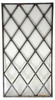 English Cottage Leaded Glass Window - One Kings Lane