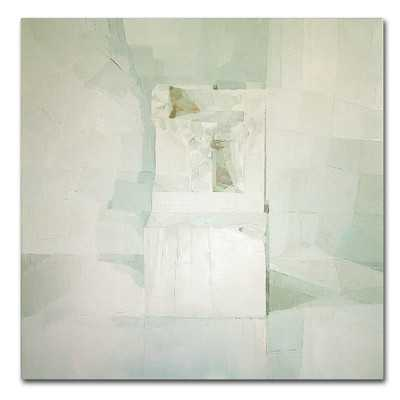 "'White' by Daniel Cacouault Painting Print on Canvas-35""x35""-Unframed- no mat - Wayfair"