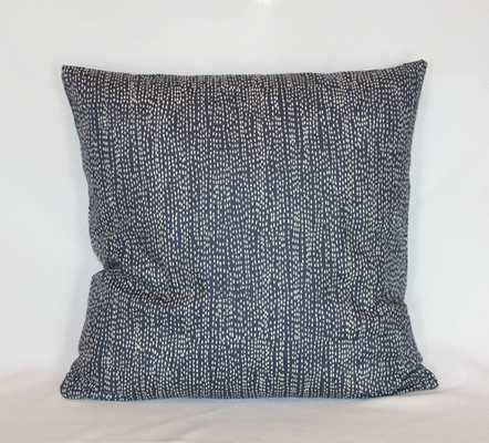 Navy Pillow Cover - 20x20 Insert sold separately - Etsy