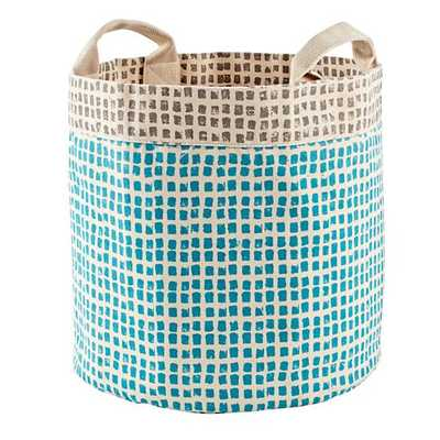 Blue Print Shop Cube Bins - Land of Nod