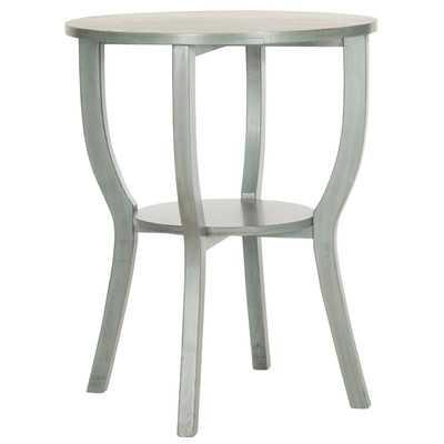North De Land End Table - Steel Blue - Wayfair