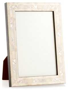 Opalescent Wedding Frame, 5x7, Ivory - One Kings Lane