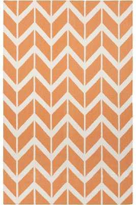 DURUM AREA RUG - Papaya, 5x8 - Home Decorators