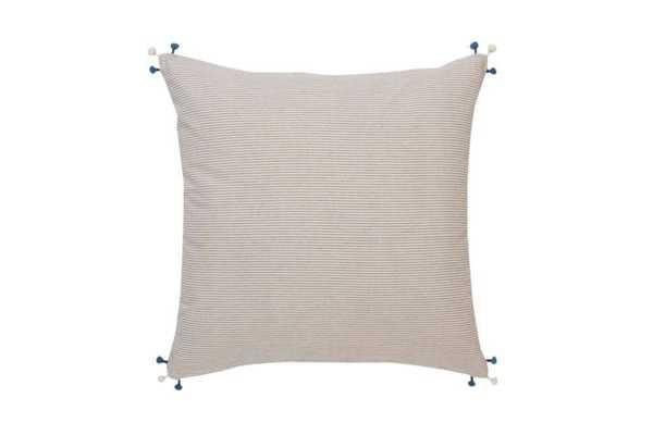 "Neela Decorative Pillow - 20"" L X 20"" W - Insert sold seperately - Domino"
