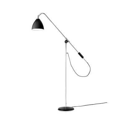 Bestlite BL4 Floor Lamp - Black/Chrome - trnk-nyc.com