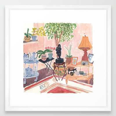 "Grandma's House -22""-Framed-White - Society6"