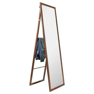 "Wooden Storage Mirror with Ladder - Thresholdâ""¢ - Target"