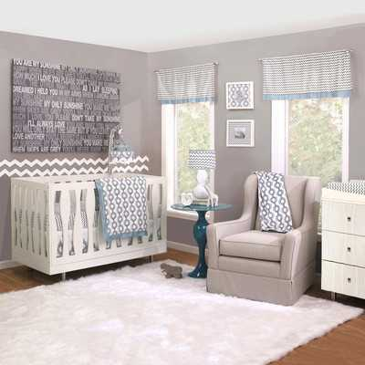 Henri 4 Piece Crib Bedding Set - Wayfair