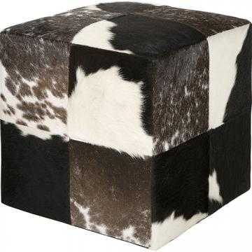 COWHIDE POUF - Wayfair